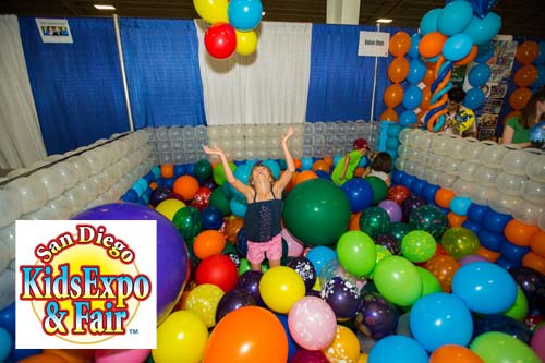 San diego kids expo fair toddler trails for Michaels arts and crafts san diego