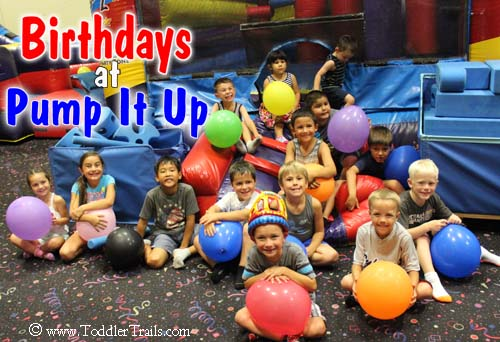 Pump It Up Birthday