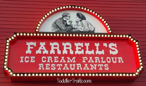 Farrell's, Farrells Buena Park, Tater Creator, Ice Cream Birthday Parties