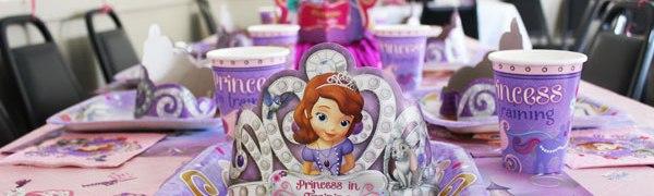 Disney Princess Sophia Birthday Party, Disneyside