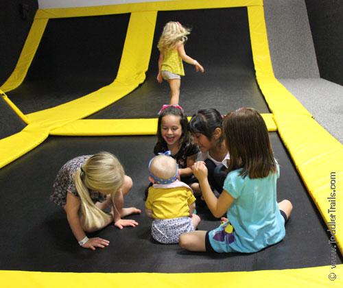 Get Air Surf City Trampoline Park, Toddler Trampolines