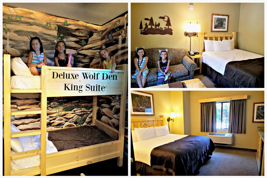 Great Wolf Lodge Deluxe Wolf Den King Suite