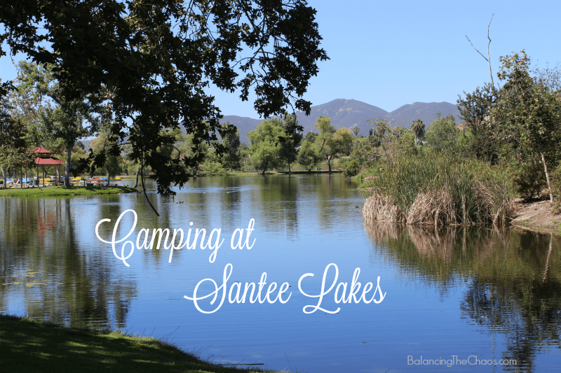 Camping in Santee Lakes Recreation & Preserve | @Santee_Lakes  #camping  #TT