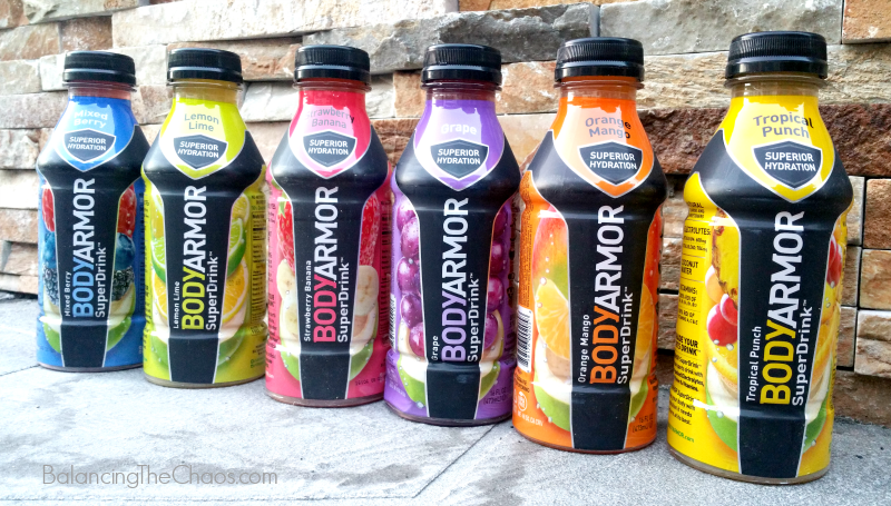 Re-Hydrate with BODYARMOR Sports Drinks | @drinkbodyarmor #BlogginMamas