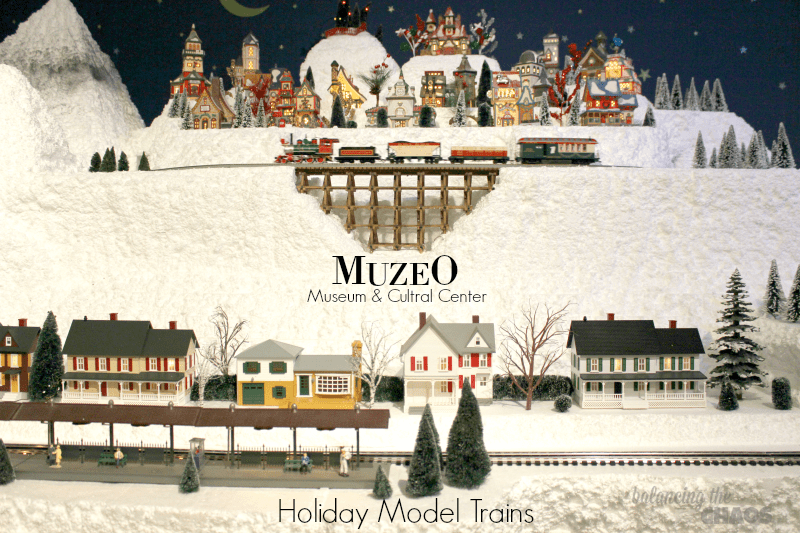 Muzeo Museum and Culturan Cener Holiday Model Trains