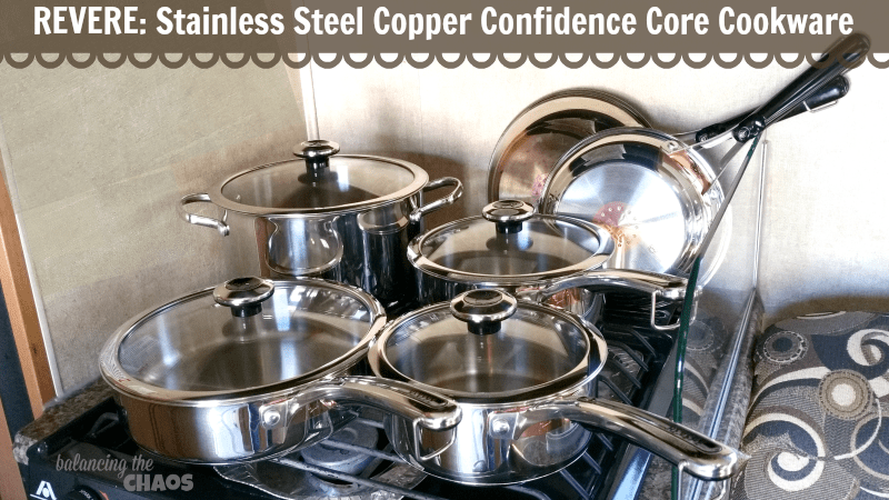 Camping with Revere® Copper Confidence Core™ + Giveaway | @WorldKitchenLLC #REVEREWARE