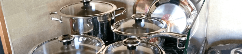 Revere Stainless Steel Copper Confidence Core Cookware