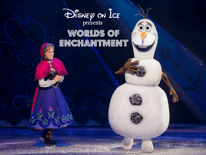 Disney on Ice Presents Worlds of Color Frozen