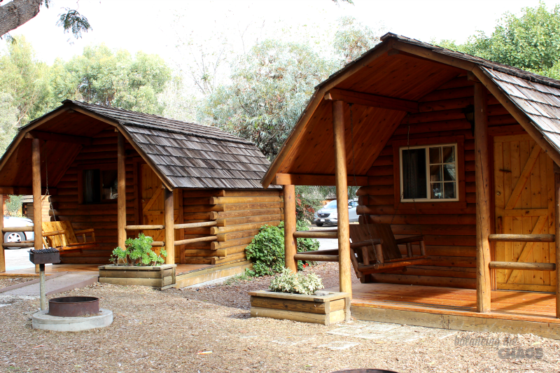 a variety of camping options at san diego metro koa