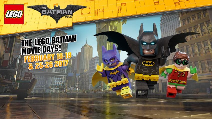 Lego Batman Movie Days Flyer