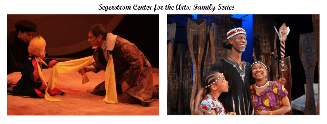 Segerstrom Center for the Arts Family Series