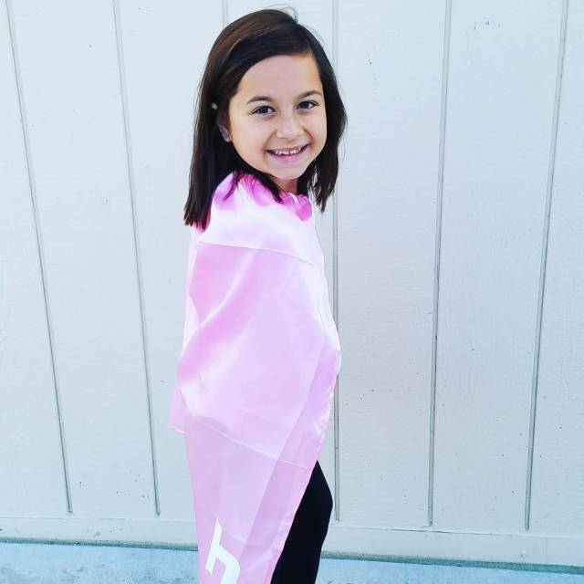 Its superhero day at school today and this girl ishellip