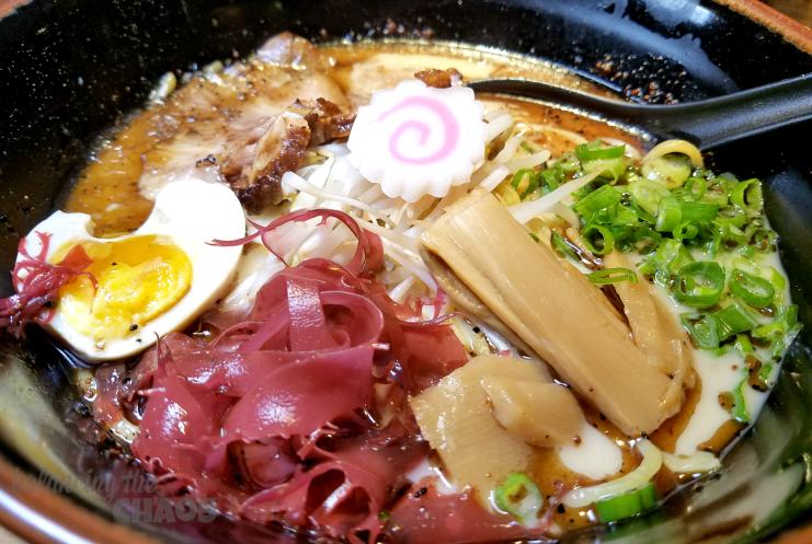 3rd Generation Ramen and Sushi Black Garlic Tonkotsu
