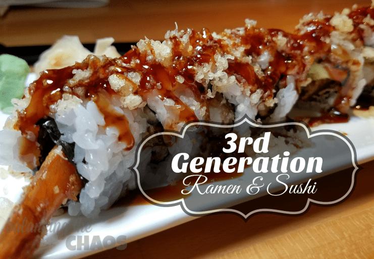 3rd Generation Ramen and Sushi