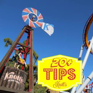Socal Pocket Memories 20+ Tips on Knotts