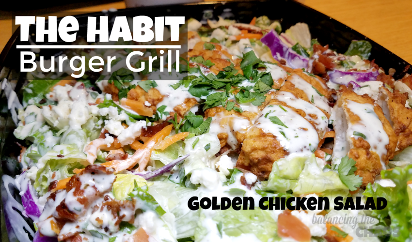 The Habit Burger Grill Golden Chicken Salad