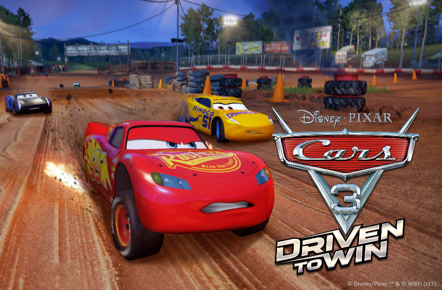 Race Lightening McQueen, Jackson Storm and Friends  in Cars 3: Driven To Win + Giveaway | @DisneyGames #Cars3