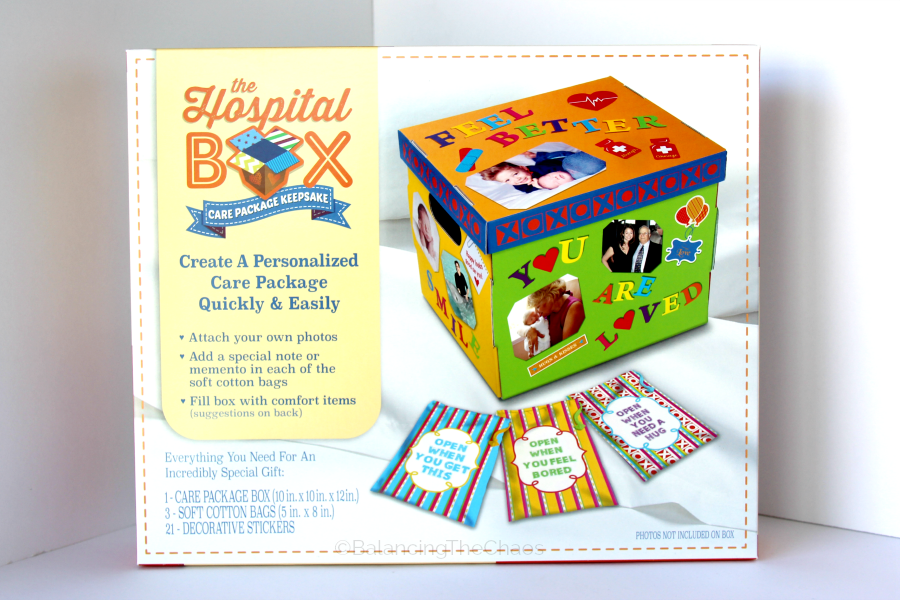 Cheer Up A Loved One With a Personalized Hospital Box   @TheHospitalBox