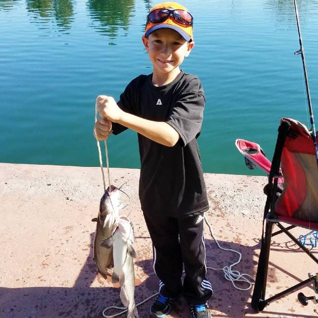 Someone had a great day at the Kids Fishing Derbyhellip