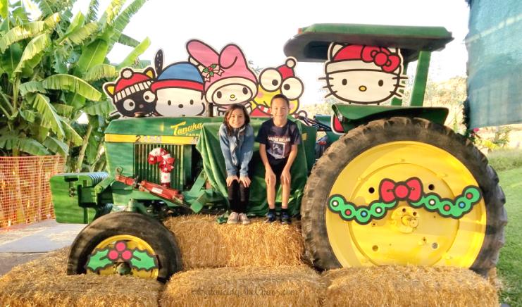Holiday Wagon Tour Tanaka Farms