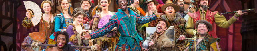 Something Rotten Tour at Segerstrom Center for the Arts