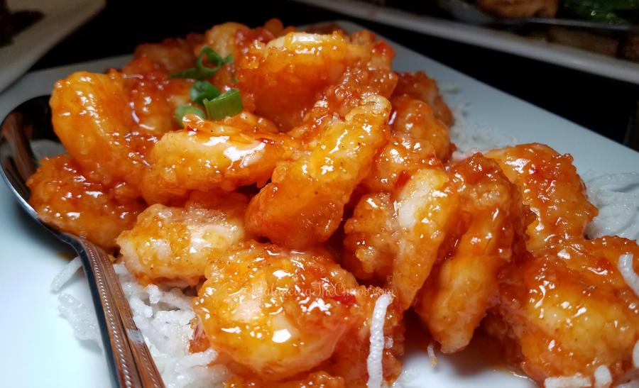 Chloes Shrimp from Buena Park New Moon Restaurant