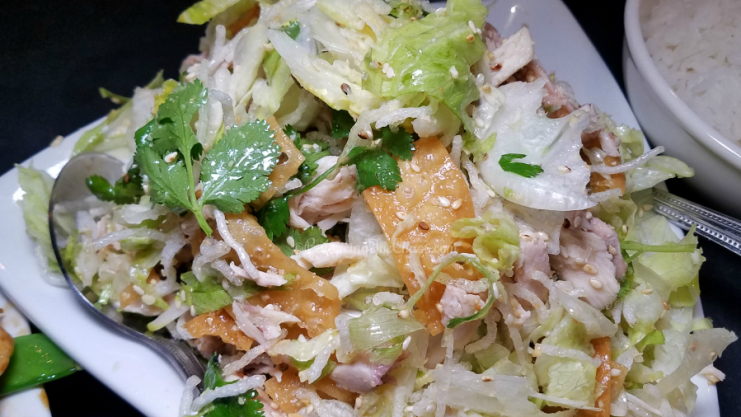 New Moon Chinese Chicken Salad