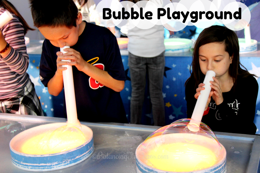 Explore The Magic of Bubbles at the Bubble Playground in Buena Park | @TheSourceOC #BubblePlayground