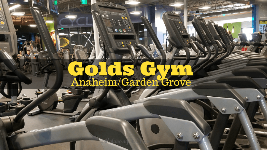 A New Year and New Routine at Golds Gym Anaheim Garden Grove | @GoldsGymSoCal #GoldsGymSoCal