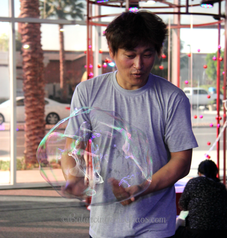 Harry Jung at Bubble Playground