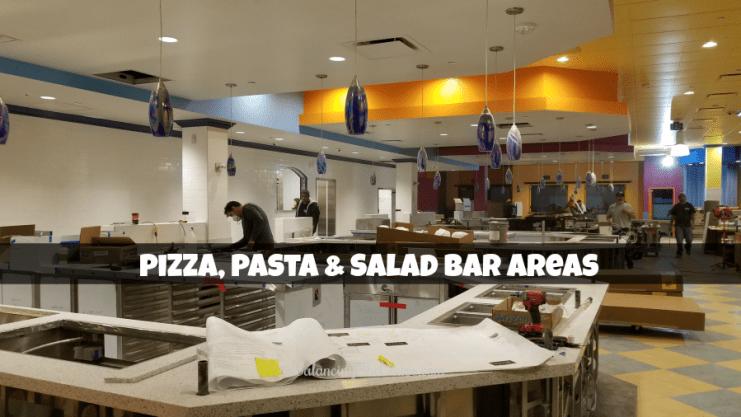 John's Incredible Pizza Buffet Area Under Construction