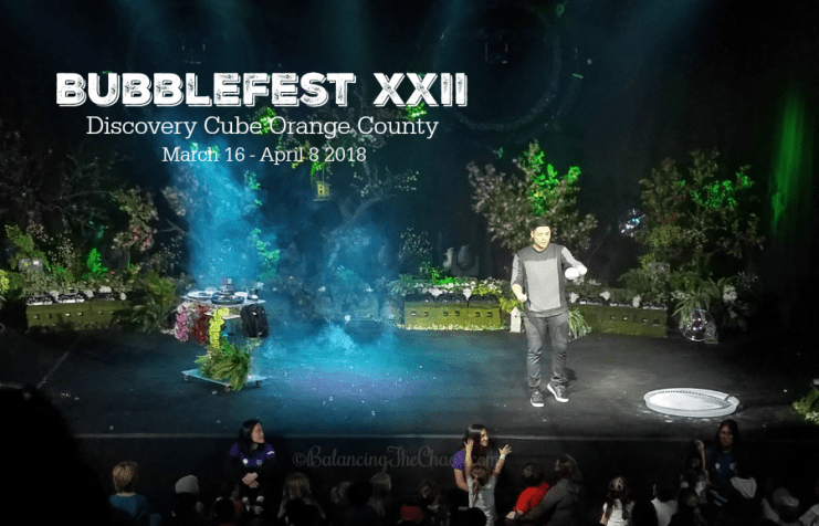 Bubblefest 2018 at Discovery Cube OC