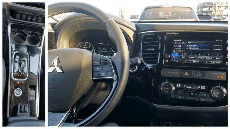 Features in the Mitsubishi Outlander