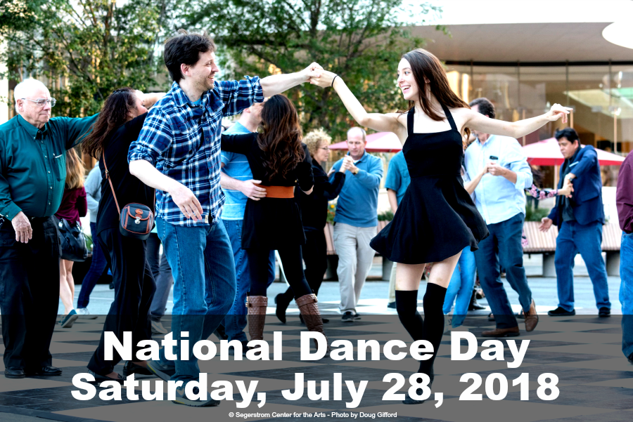 National Dance Day Segerstrom Center for the Arts