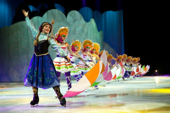Disney on Ice Presents Dare to Dream also featuring Princess Anna from Frozen