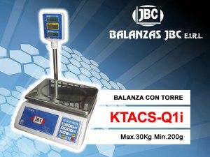 Balanza Modelo KTACS-Q1i