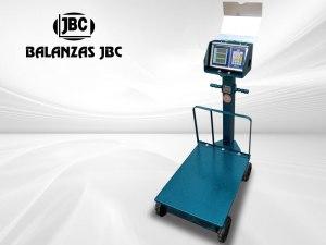 Balanzas Electromecánicas con Ruedas Marca JBC Modelo 8503B 300KG