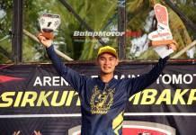 Akhirnya Aldi Lazaroni Raih Gelar Juara Nasional MX2 Keduanya