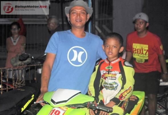 Juara Nasional Motocross 65cc Novice M Diandra Akan Fokus Ngaspal di 2018, Perdana Tampil di Balap Malam Tahun Baru Jogja