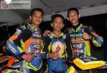 Fix Dengan Tiga Pembalap, Tim Bromo Jaya Mix Skuad 2018 Serbu Balap Tahun Baru Jogja