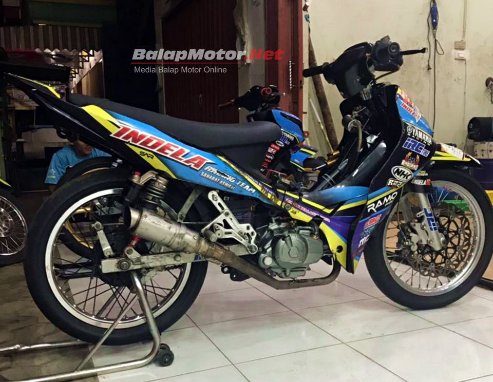 Jupiter Z Mp6 Karbu Hasil Karya Bos Indela Racing Team Ini