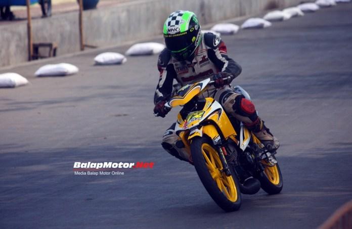 Kembali Besut Underbone Botuna Racing, Delly Pramana Berikan Podium 3