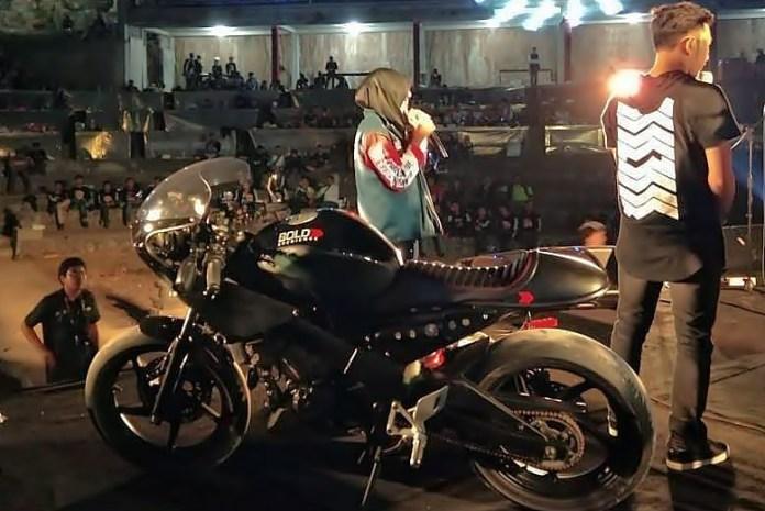 Modifikasi Honda CBR Sedot Perhatian Bikers di Jambore Bali