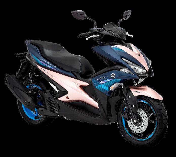 Edisi Terbatas Yamaha Aerox dan MX King Bertema Doxou