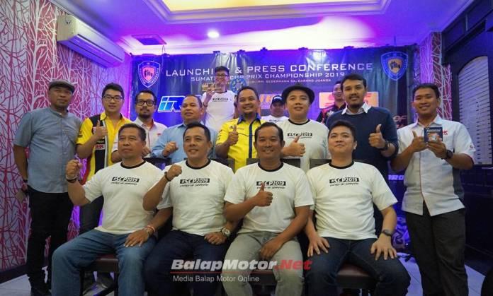 Sumatera Cup Prix (SCP) 2019 Siap Digelar 5 Seri, Nih Jadwalnya