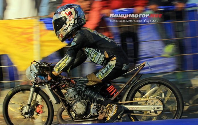 Drag Bike Kudus 2019: Konsistensi Ninja FFA Racing Ceria Cetak Best Time 6,7 Detik!