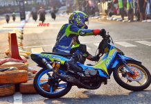 "Road Race Blora: Agus Chikens ""Kims Racing"" Tercepat QTT Underbone Sleep Engine!"