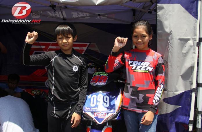 Aurelia Aline Gadis Cilik Asal Solo Perdana Balap Bebek di Grand Final YCR 2019 Tasikmalaya