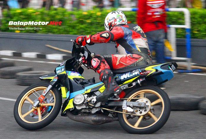 Road Race Kebumen 2019: Dua QTT Underbone Disikat Agus Kempul 'WLM Racertees'!