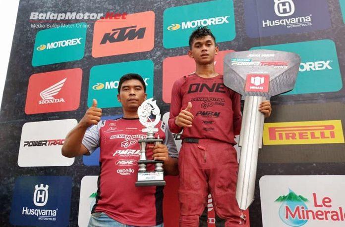 Impian Bhelly Satria Bisa Main Powertrack, Eh Langsung Juara Umum Bersama RSAC Devan Putra!